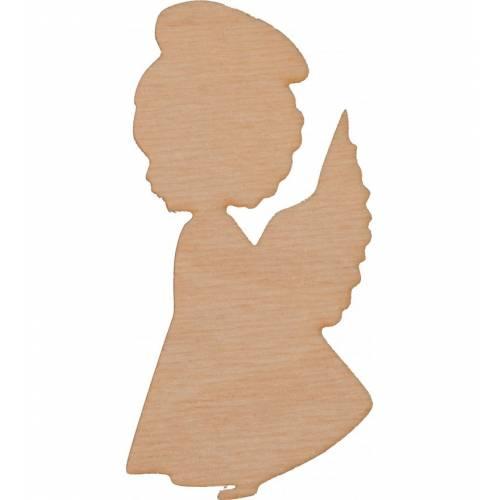 Drewniany aniołek ze sklejki