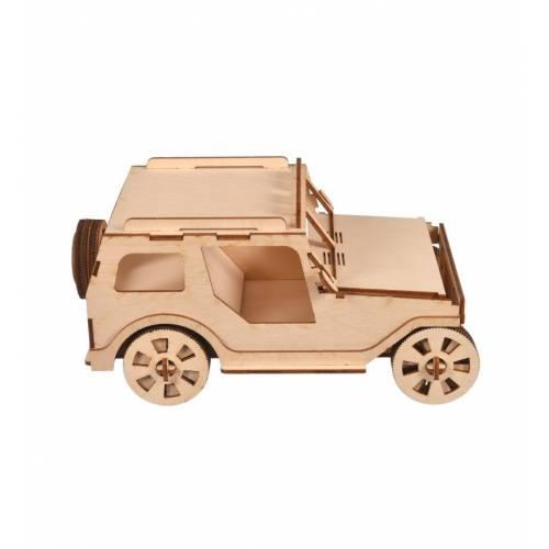 model samochodu do składania widok z boku