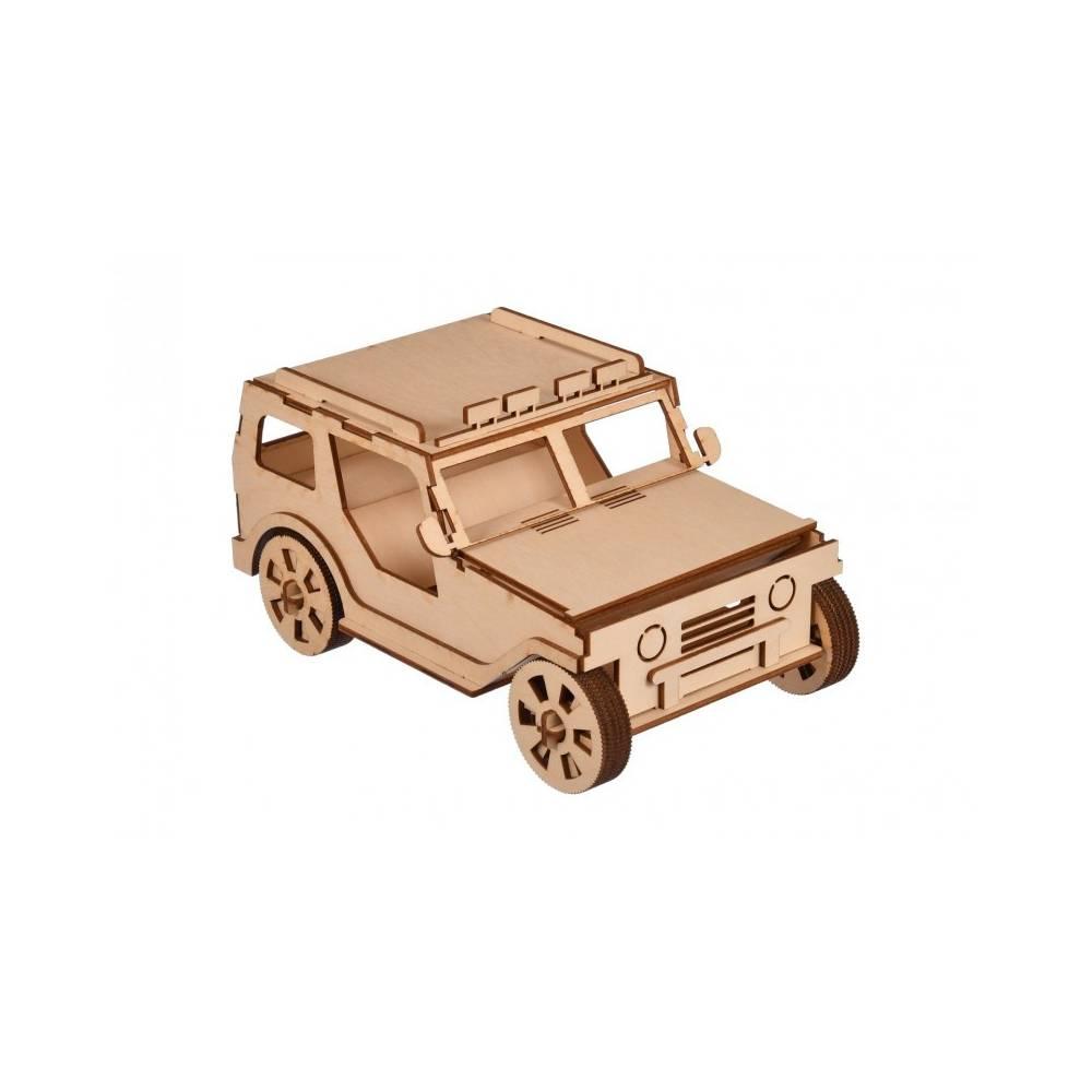 model samochodu do składania