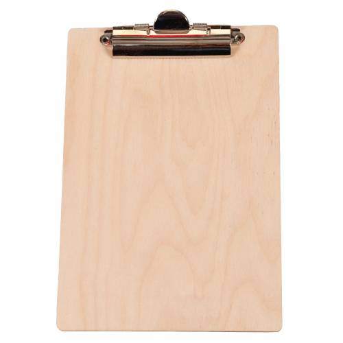 Drewniany CLIP BOARD A5