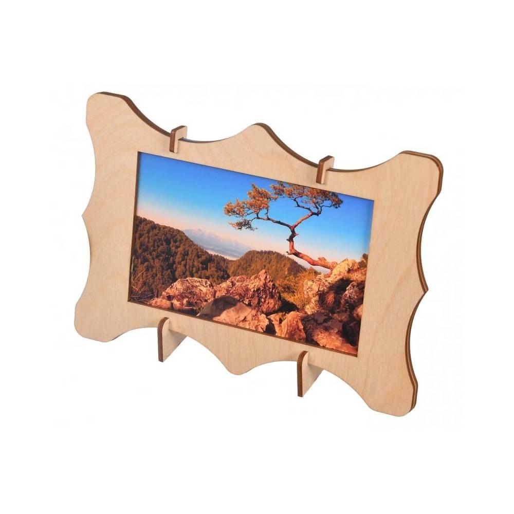 Drewniana ramka na zdjęcia...