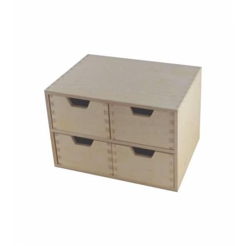 Organizer do biura z 4 szufladami