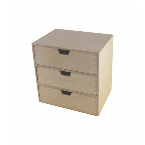Organizer do biura z 3-ema szufladami