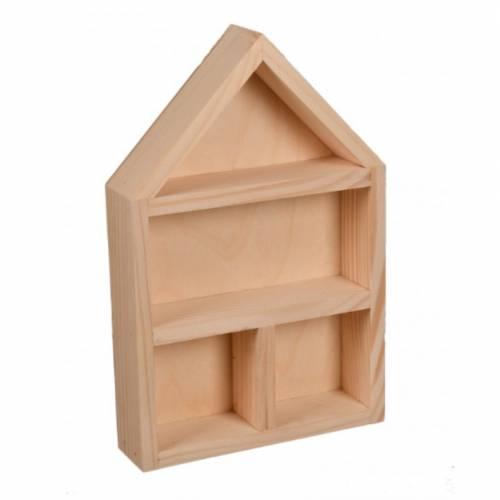 Drewniana szafka na drobiazgi