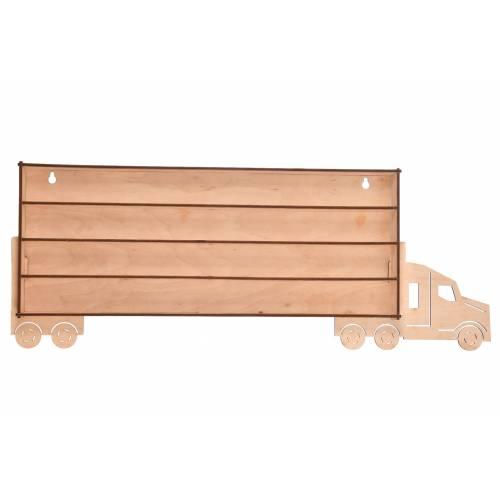 Tir drewniany organizer na resoraki