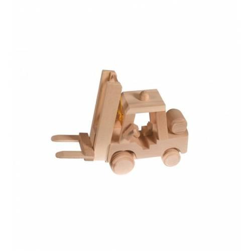 Drewniana zabawka - wózek widłowy