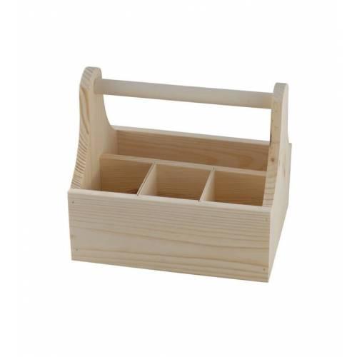 Nosidło drewniane  z 4 przegrodami
