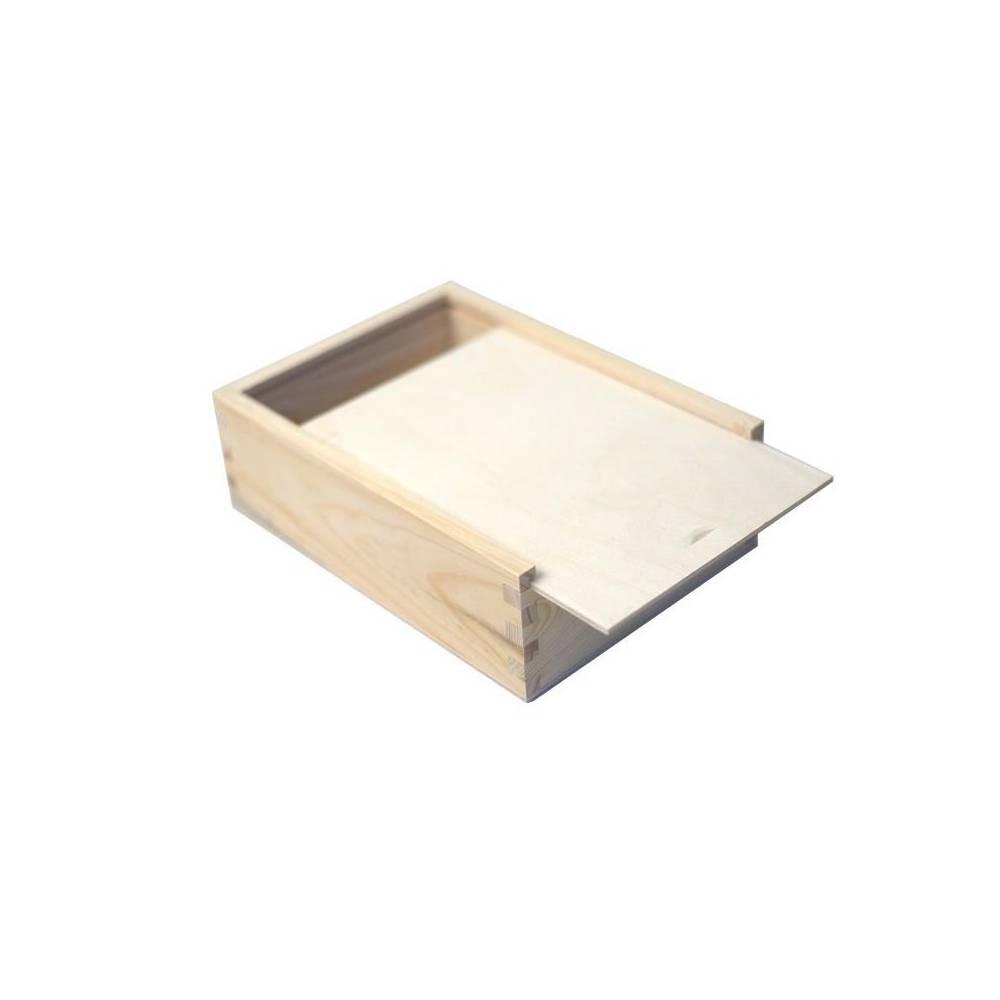 Drewniany piórnik na...