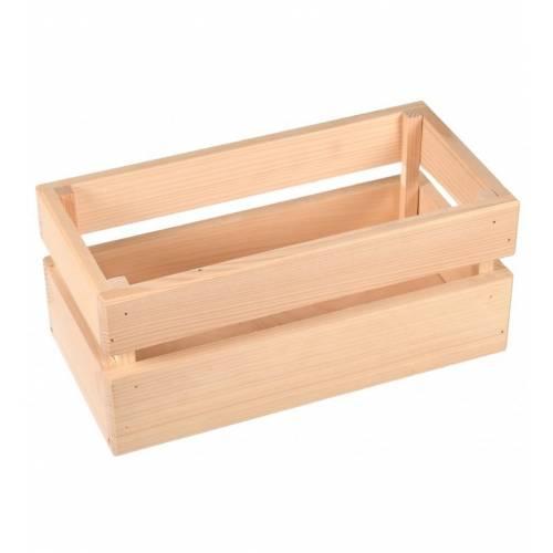 Skrzynka drewniana na przyprawy