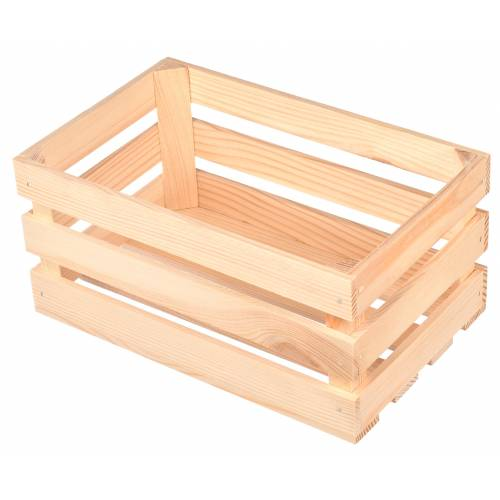 Skrzynka drewniana średnia