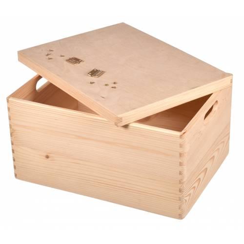 Pudełko drewniane 40x30x23