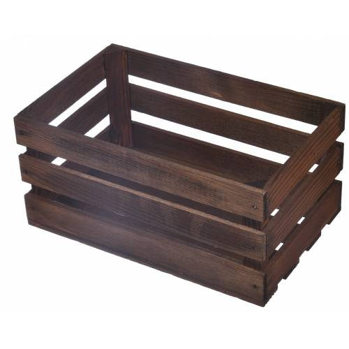 Drewniana skrzynka mała...