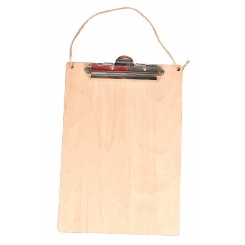 Drewniany clipboard A5 ze...