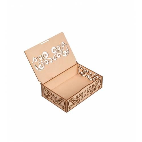 Pudełko w ażurowe wzory