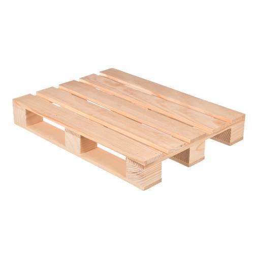 Paleta drewniana MINI 40x30x6cm