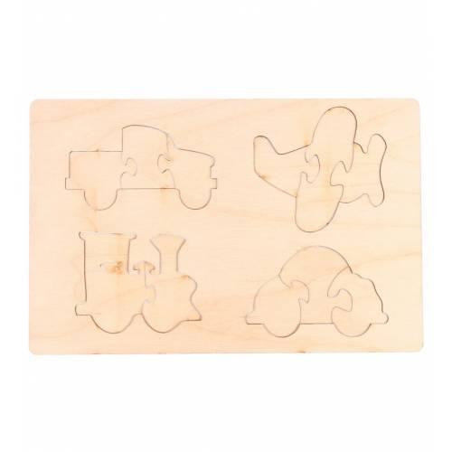 Drewniane puzzle edukacyjne...