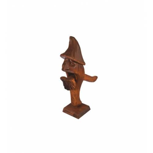 Drewniany dziadek do orzechów