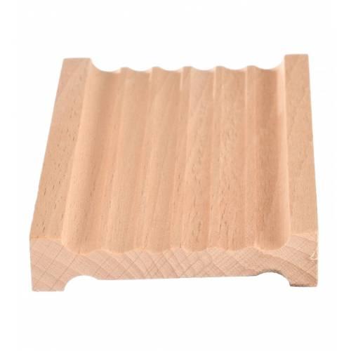 Drewniana mydelniczka