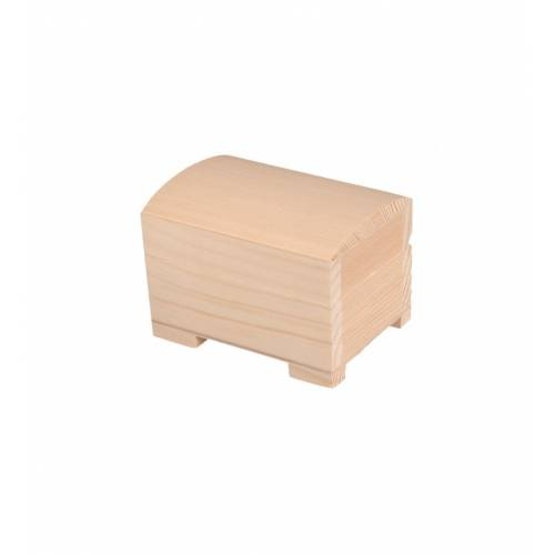 Drewnaina szkatułka do decoupage 10cm