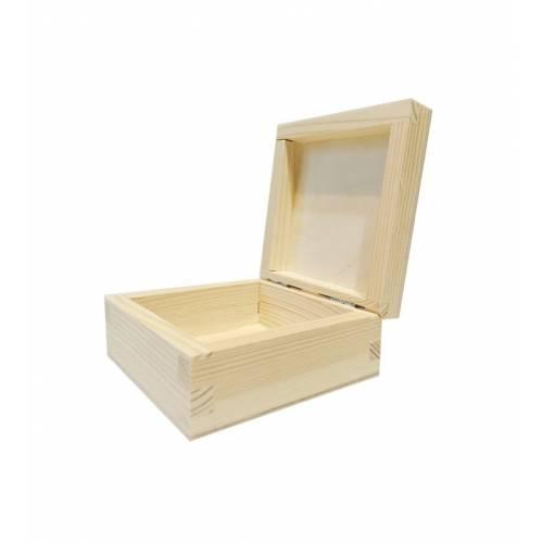 Drewniane pudełko 14x14