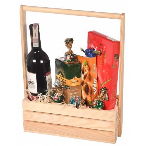 Nosidło drewniane na wino 3...