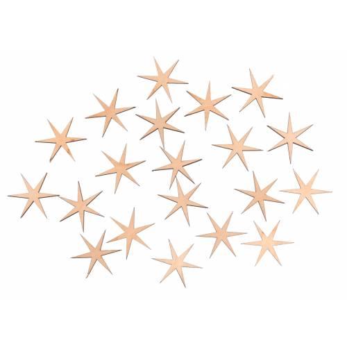 Scrapki gwiazdki 20 szt