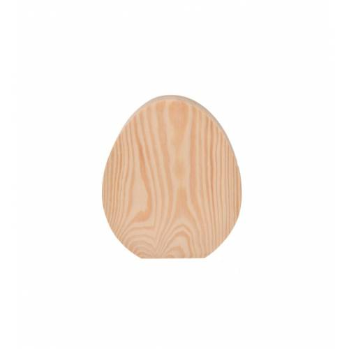 Jajko drewniane stojące
