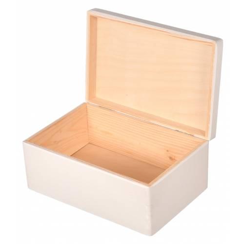 Białe pudełko 30x20x13 cm