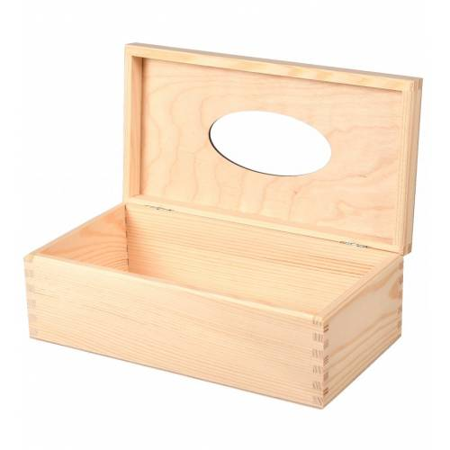 Chustecznik pudełko na chusteczki otwierane