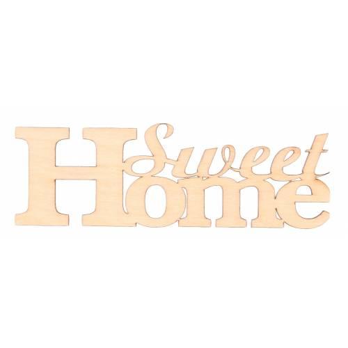 Napis drewniany SWEET HOME