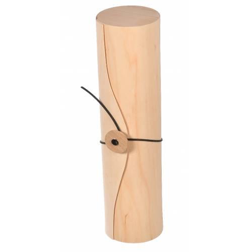Pudełko drewniane opakowanie na wino tuba