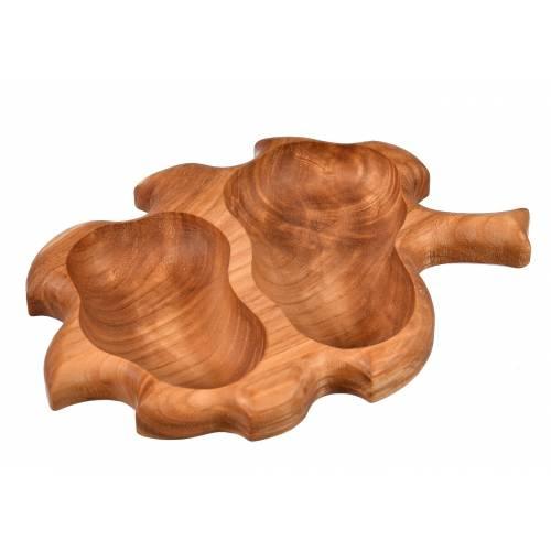 Dekoracyjna miska drewniana...