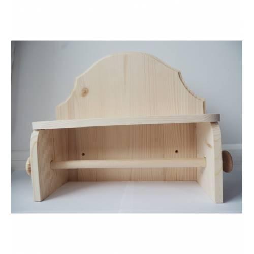 Drewniany wieszak na...