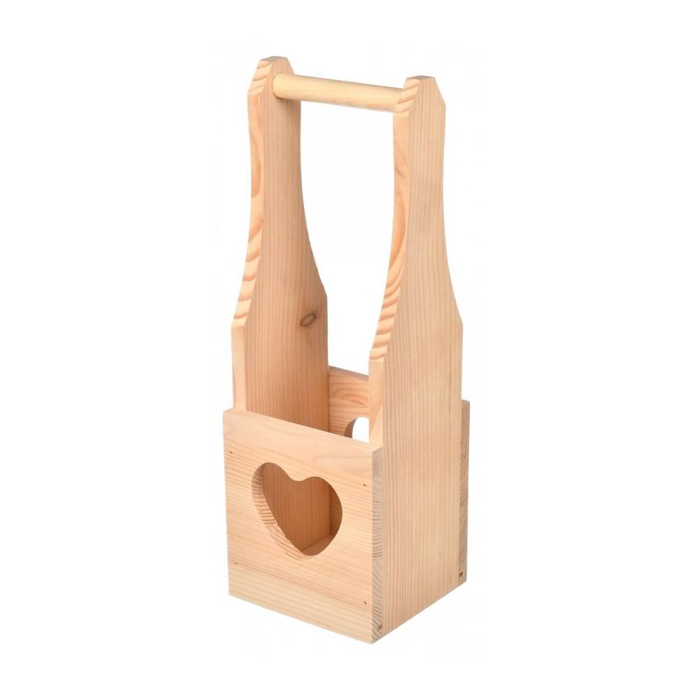 Drewniana skrzynka na wino...