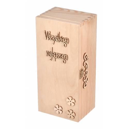 Pudełko drewniane na whisky...