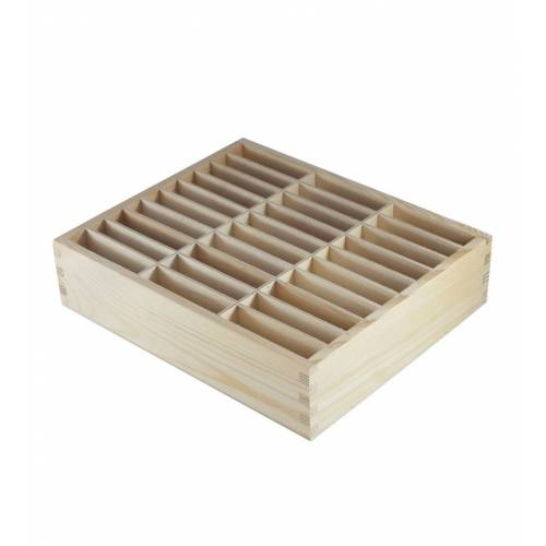Drewniana skrzynka na...