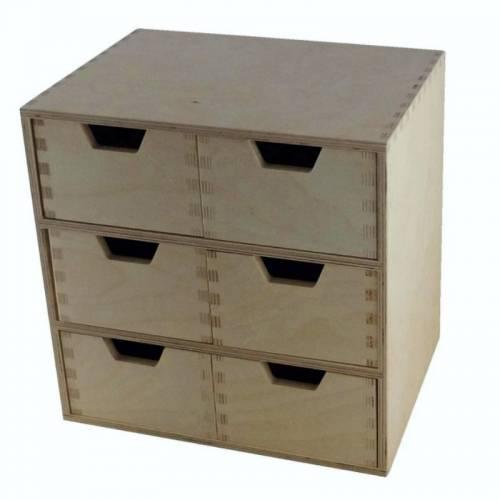 Organizer do biura z 6 szufladami