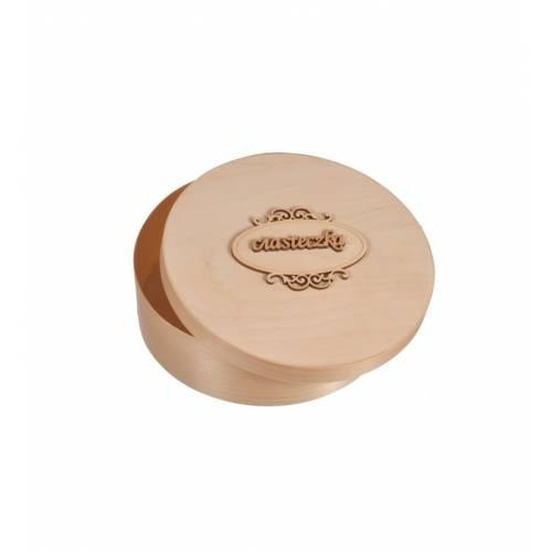Pudełko drewniane okrągłe...