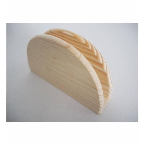 Serwetnik na stół drewniany...