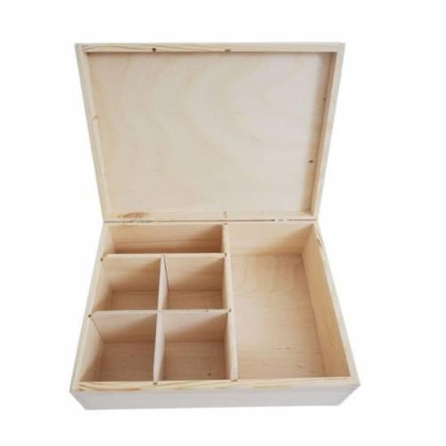 Pudełko z nieregularnymi przegrodami