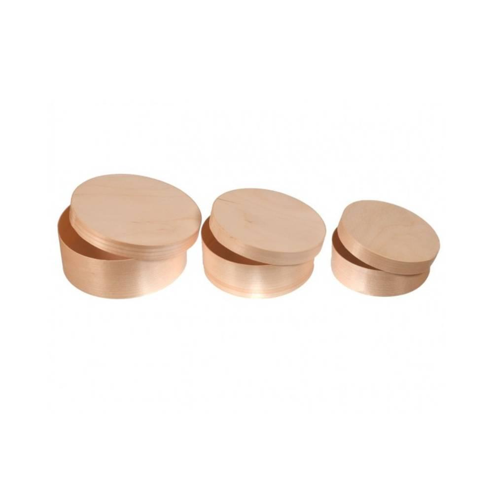 Komplet łubianek 3w1 okrągłe ŁO-2