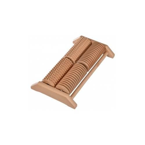 Drewniany masażer do stóp roller