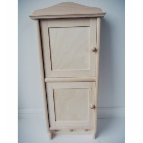 Drewniana szafka domek na...