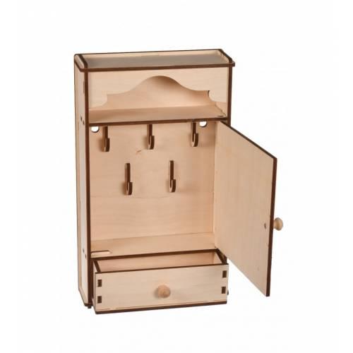 Szafka na klucze z szufladą
