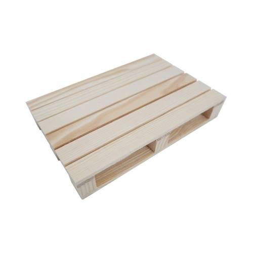Mini paleta śniadaniowa drewniana EKO