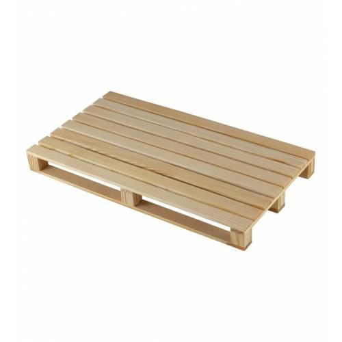 Duża paleta śniadaniowa drewniana EKO 35x20x3,5cm