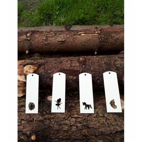 Drewniana zakładka do...