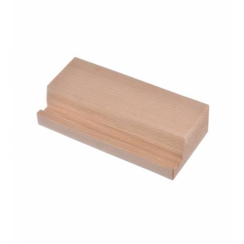 Drewniana bukowa podstawka na TABLET