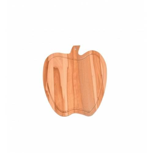 Drewniana deska do krojenia w kształcie jabłka