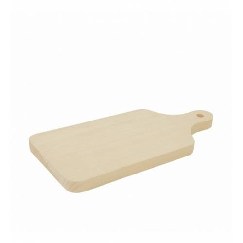Naturalna deska drewniana do krojenia 26x12x1,5cm